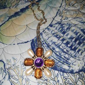 Vintage Avon Cross Pendant/Brooch